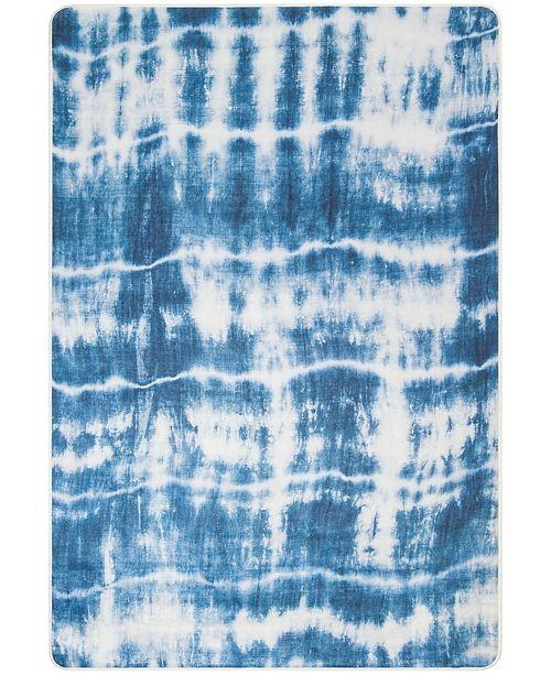 Safavieh Daytona Ivory and Blue 4' x 6' Area Rug