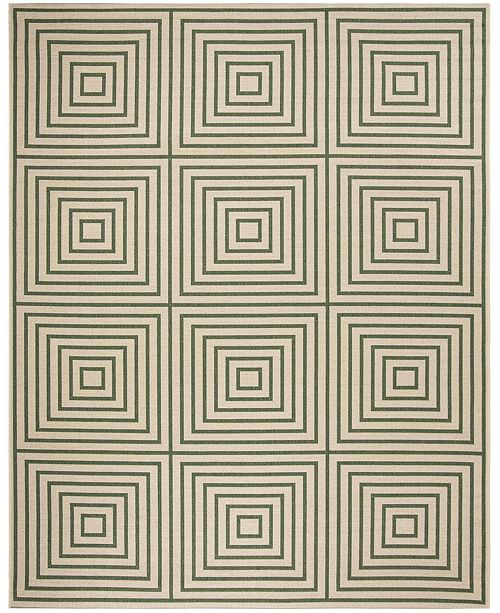 Safavieh Linden Cream and Green 9' x 12' Area Rug