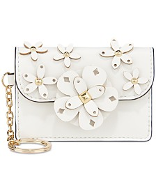 Nine West 3D Floral Card Case