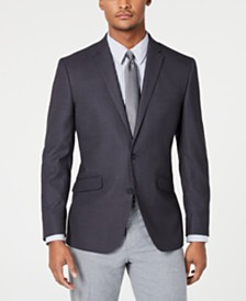 Kenneth Cole Reaction Men's Slim-Fit Stretch Textured Sport Coat