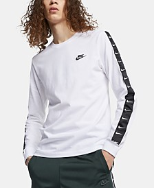 Nike Men's Sportswear Logo Long-Sleeve T-Shirt