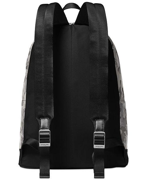 Michael Kors Men s Kent Camo Backpack - All Accessories - Men - Macy s fb1003e3da68