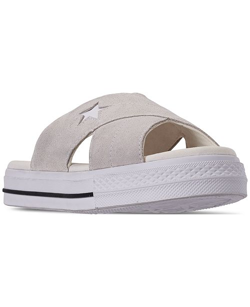 Converse Women's One Star Slip Athletic Slide Sandals from