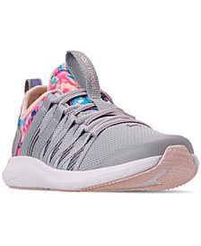 Under Armour Girls' Infinity MB Slip-On Running Sneakers from Finish Line