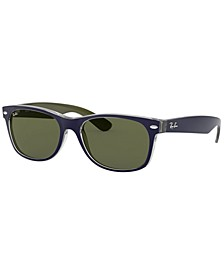 Sunglasses, RB2132 NEW WAYFARER BICOLOR