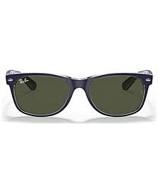Ray-Ban Sunglasses, RB2132 NEW WAYFARER BICOLOR