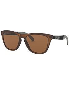Oakley Polarized Sunglasses, OO9428 55 Frogskins Mix