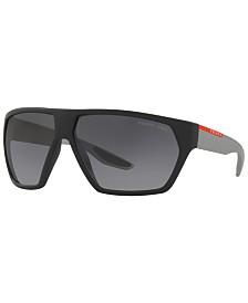 Prada Linea Rossa Polarized Sunglasses, PS 08US 67