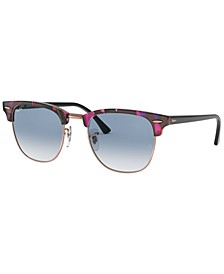 Sunglasses, RB3016 CLUBMASTER FLECK
