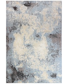 "Lama LMA-109 Light Blue 7'9"" x 9'6"" Area Rug"