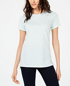 Striped Crew-Neck T-Shirt, Created for Macy's