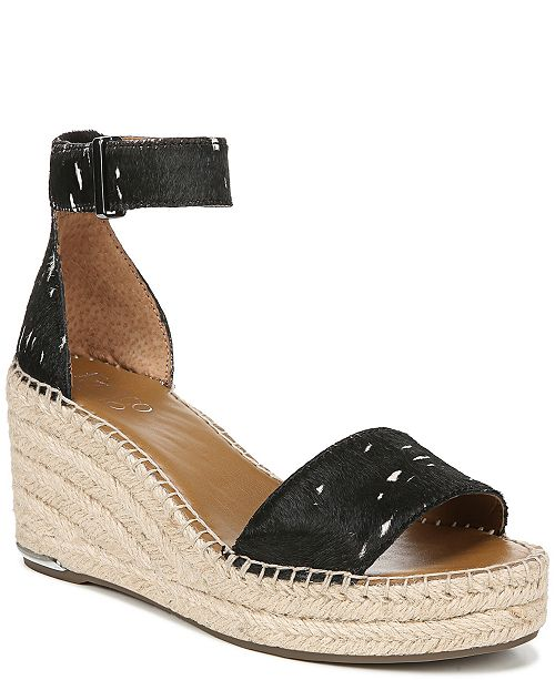 525651211f5a Franco Sarto Clemens Wedge Sandals  Franco Sarto Clemens Wedge Sandals ...