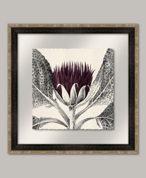 Arctium I in Eggplant Framed Giclee Wall Art - 22