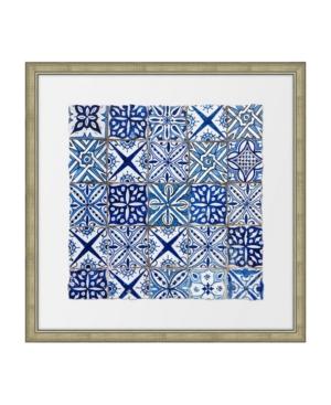 Ancient Tiles Ii Framed Giclee Wall Art - 28