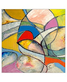 "Tangled Framed Canvas Wall Art - 41"" x 41"" x 2"""