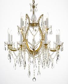Maria Theresa 13-Light Crystal Chandelier
