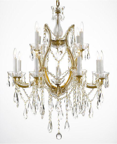 Harrison Lane Maria Theresa 13-Light Crystal Chandelier
