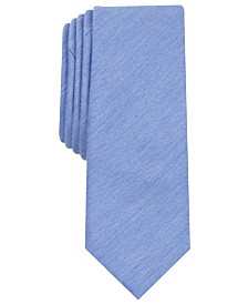 Original Penguin Men's Ashin Solid Skinny Tie