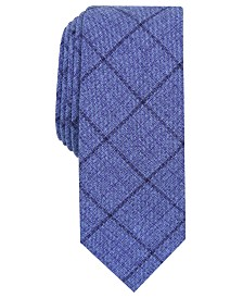 Original Penguin Men's Deters Check Skinny Tie