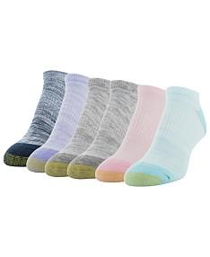d56716bf26f6c Gold Toe 6 Pack Cool No-Show Socks