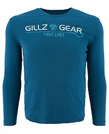 Gillz Men's Logo Graphic Moisture-Wicking UV T-Shirt
