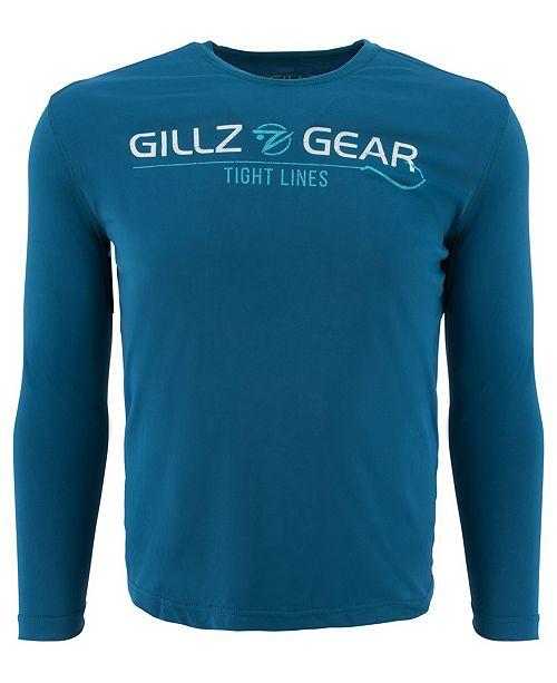 Gillz Men's Logo Graphic Moisture-Wicking UV T-Shirt