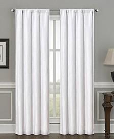 "Silk+Home Luxury Light Filtering Rod Pocket Curtain Panel Pair 52""x84"""