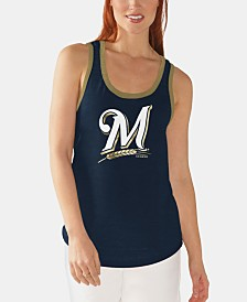 G-III Sports Women's Milwaukee Brewers Clubhouse Tank