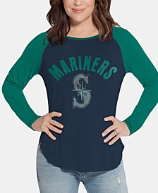 Women's Seattle Mariners Long Sleeve Touch T-Shirt