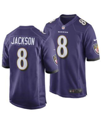 Men's Lamar Jackson Baltimore Ravens Game Jersey