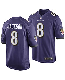 Men's Lamar Jackson Baltimore Ravens Game Jersey