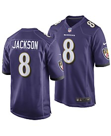 Nike Men's Lamar Jackson Baltimore Ravens Game Jersey