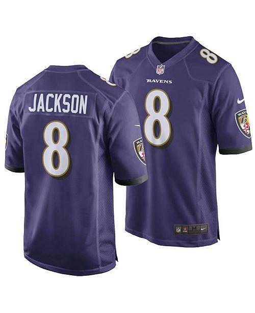 Nike Men's Lamar Jackson Baltimore Ravens Game Jersey
