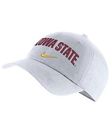 new product ca9b9 75637 Nike Iowa State Cyclones H86 Wordmark Swoosh Cap