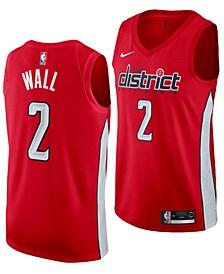 John Wall Washington Wizards Earned Edition Swingman Jersey, Big Boys (8-20)