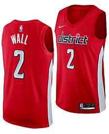 Nike John Wall Washington Wizards Earned Edition Swingman Jersey, Big Boys (8-20)