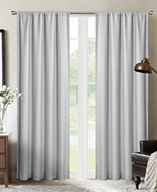 "Silk+Home Light Filtering Rod Pocket Single Curtain Panel 52""x95"""