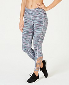 Space-Dyed Cutout Leggings, Created for Macy's