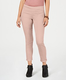 Style & Co Rolled-Hem Skinny Pants, Created for Macy's