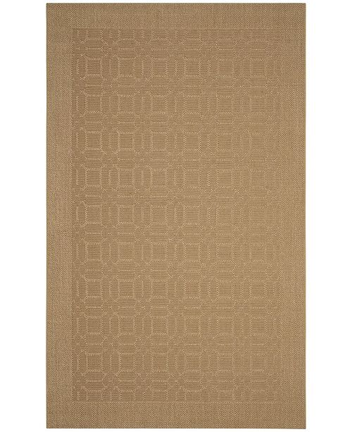 Safavieh Palm Beach Maize 4' x 6' Sisal Weave Area Rug