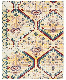 Safavieh Watercolor Light Yellow and Blue 8' x 10' Area Rug