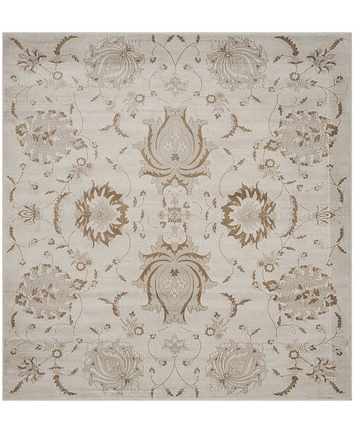 "Safavieh Vintage Cream and Camel 6'7"" x 6'7"" Square Area Rug"