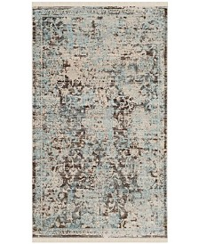 Safavieh Vintage Persian Brown and Light Blue 3' x 5' Area Rug