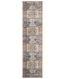 "Safavieh Vintage Persian Beige and Blue 2'2"" x 12' Runner Area Rug"