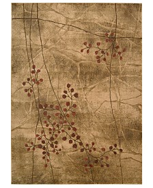 CLOSEOUT! Nourison Area Rugs, Somerset Collection ST74 Latte Blossom