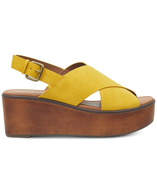 Irfayina Sandales Indigo et Rd Chaussures a plateforme avis compensees Tongs Dorees wOPN80knX