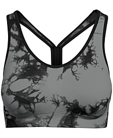 Tie-Dyed Racerback Low-Impact Sports Bra