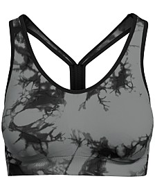 Champion Tie-Dyed Racerback Low-Impact Sports Bra