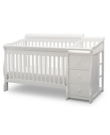 Children Princeton Junction Convertible Crib and Changer, Quick Ship
