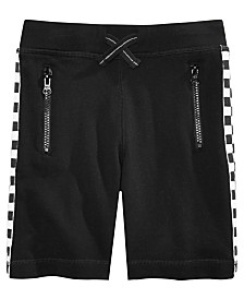 Epic Threads Toddler Boys Race Stripe Knit Shorts, Created for Macy's